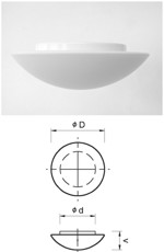 Alfa LED 310 ceiling light with motion sensor, IP40